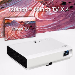 Luxcine X 3001 3D HD led - laser projektor