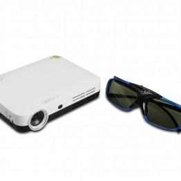 3D szemüveg DLP projektorokhoz