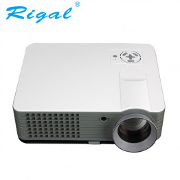 Rigal Electronics RD-801A Smart + wifi + TV fehér led projektor