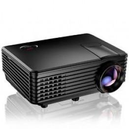 Rigal Electronics RD-801A Smart + wifi + TV fekete led projektor