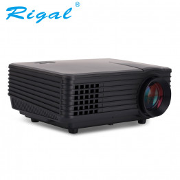 Rigal Electronics RD-805A Smart + wifi + TV mini fekete led projektor