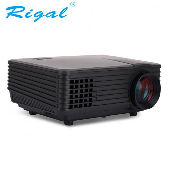 Rigal Electronics RD-805A + TV mini fekete led projektor