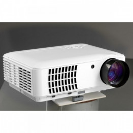 Rigal Electronics RD-806B Smart + wifi + TV fehér HD led projektor