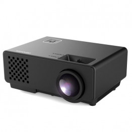 Rigal Electronics RD-810 Smart + wifi fekete mini led projektor