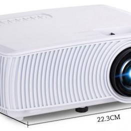 Rigal Electronics RD-816 + TV fehér mini led projektor
