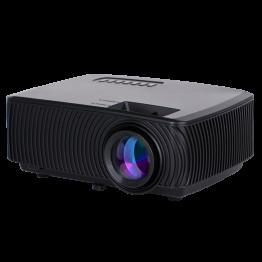 Rigal Electronics RD-816 Smart + wifi + TV fekete mini led projektor