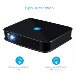 FLYSIGHT F-H2 magas fényerejű LED projektor