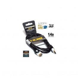 Noname Jelkábel HDMI-HDMI 1.4 3D  4,5m aranyozott  Am/Am